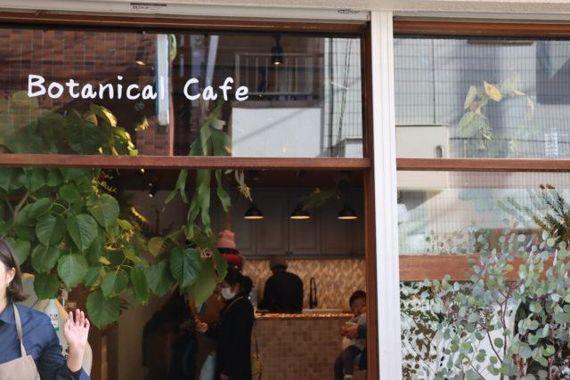 くるみどり ボタニカルカフェ インテリアグリーン